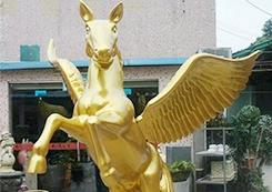 玻璃钢制品动物雕塑