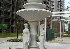 花岗石小区雕塑