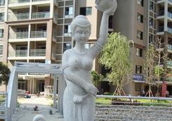 花岗石形象雕塑