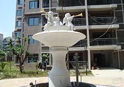 花岗石景观雕塑