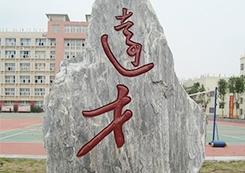 校园景观石雕
