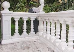 罗马石雕栏杆