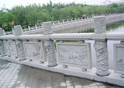 仿真塑石栏杆