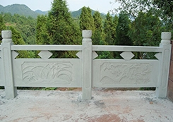 景观石雕栏杆