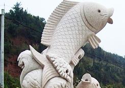工艺鱼雕塑