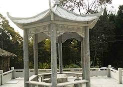 南充园林雕塑景观亭