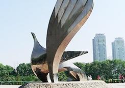 城市建筑形体雕塑