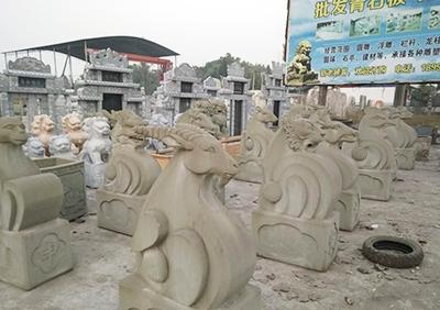 青石动物雕塑
