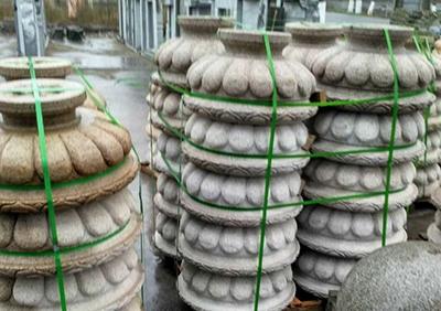 文化广场石雕