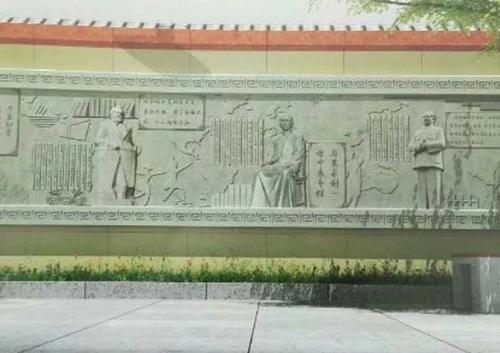 巴中园林壁画