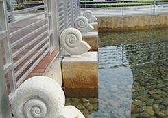 花岗石喷泉雕塑