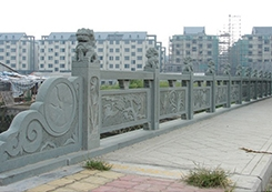 道路栏杆雕塑