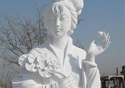 中国神话人物雕塑