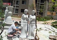 古人物雕塑