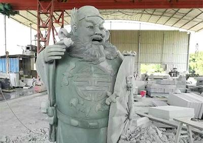 青石人物雕塑