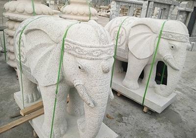 花岗石动物雕塑