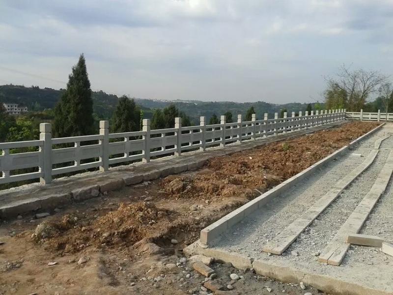 景观石雕护栏