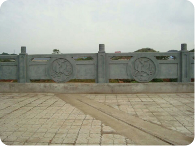 石刻雕塑栏杆
