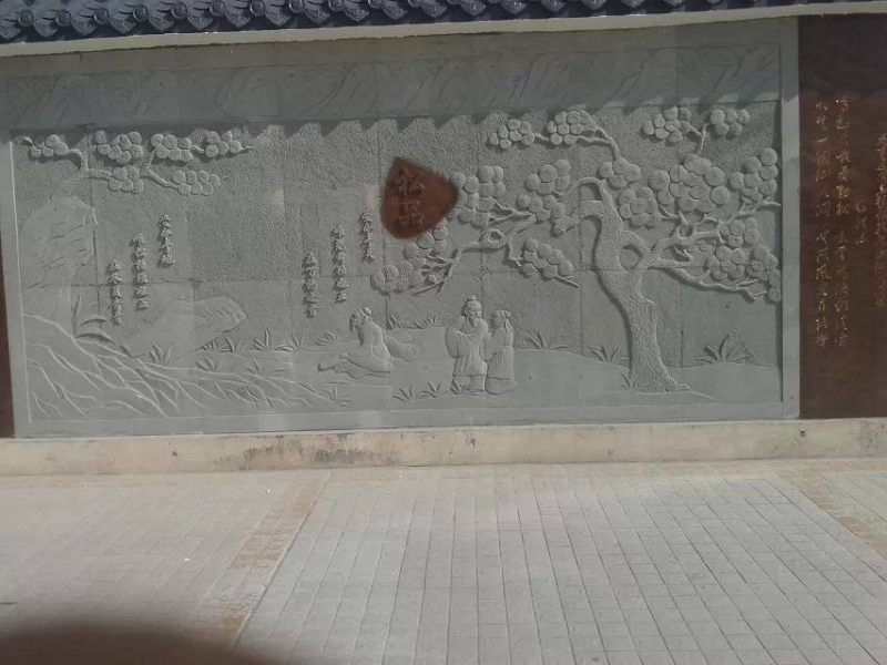 校园壁画雕塑